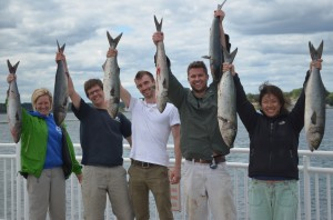 Lab fishing trip 2014